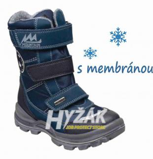 a3d9e041e3d5 SANTÉ IC 84549 BLUE zdravotní zimní obuv